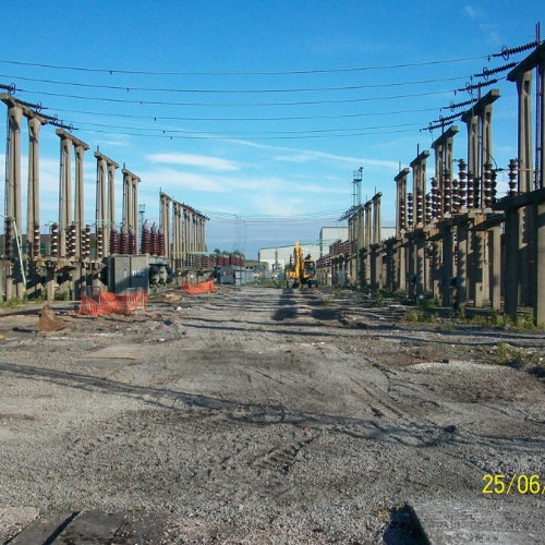 Whitegate 132kv Demolition